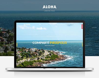 Aloha | Landing Page