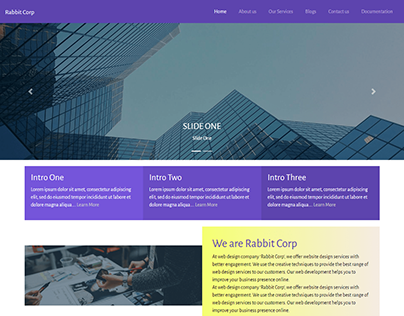 Rabbit Corp WordPress Theme