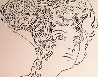 PORTRAIT ∆ ARTNOUVEAU