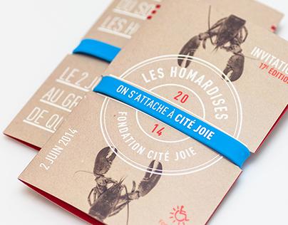 Les Homardises 2014 - Fondation Cité Joie
