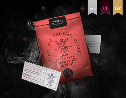 BRANDING • Lucifer Coffee Roaster