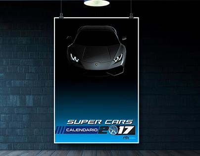 Super Cars / Calendario 2017
