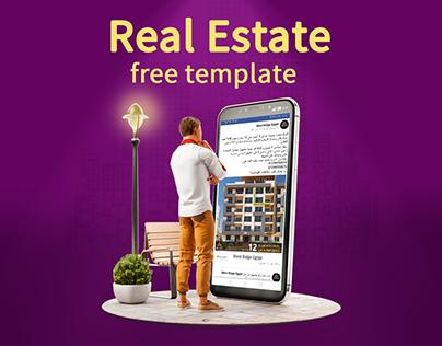 Real Estate social media templates - Free Download