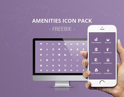 Amenities Icon Set - FREEBIE