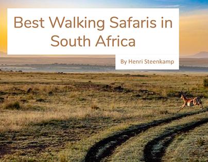Best Walking Safaris in South Africa