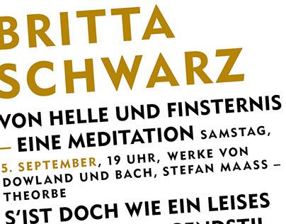 Britta Schwarz - Sommerkonzerte