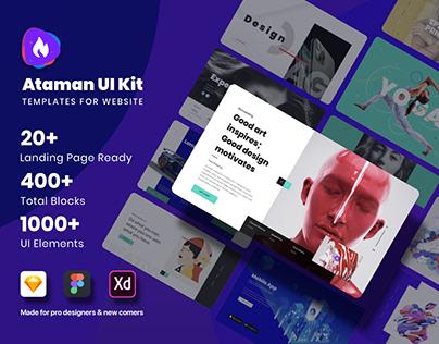 Ataman UI Kit- Templates For Website
