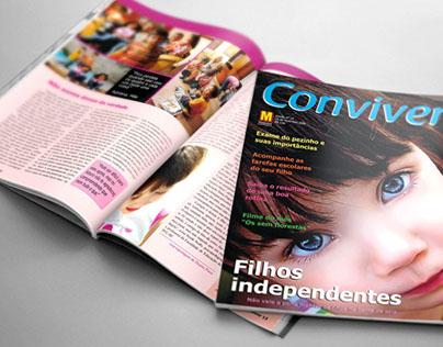 Revista Conviver | Projeto de Faculdade