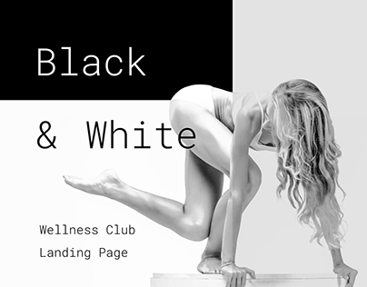Wellness Club Landing Page