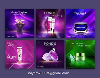 Cosmetics Social Media Post