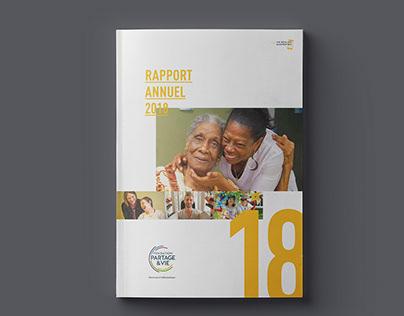 Fondation Partage & Vie - Rapport Annuel 2018