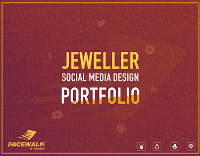 Social Media Promotional Graphic Designs for Jewellery