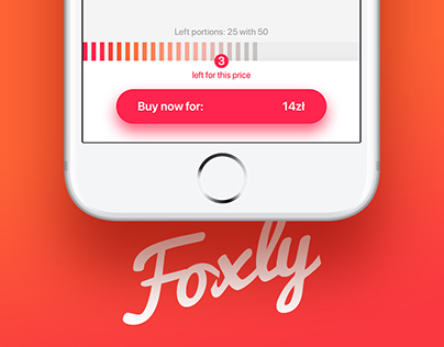Foxly app - catch food deals
