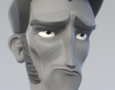 Daily sketch 3d sculpt