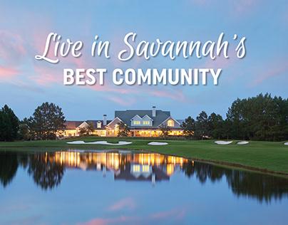 Savannah Quarters - Lifestyle Ads