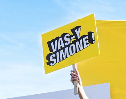 Action de rue - Simone