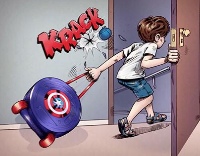 Grendene Avengers