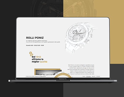 UX/UI Watch and Jewelry | Rolli Poniz
