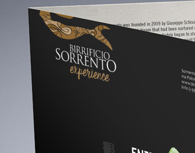 Birrificio Sorrento / leaflet