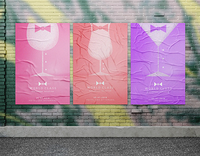 World Class Bartender Competitions | Posters