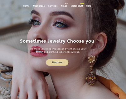 A Jewelry Shopify Store
