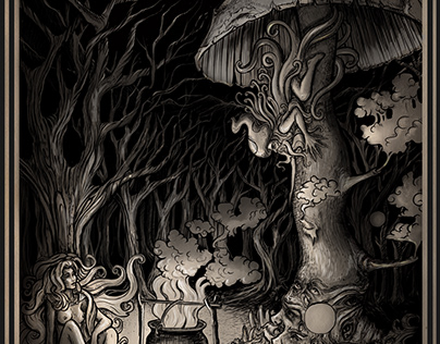 Witch and Mushroom man