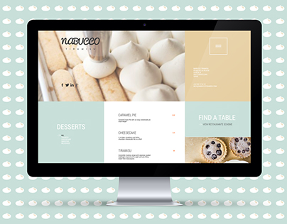 Nabucco Cafe Website & Identity