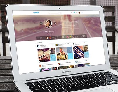 Mobilizr website & app version 1