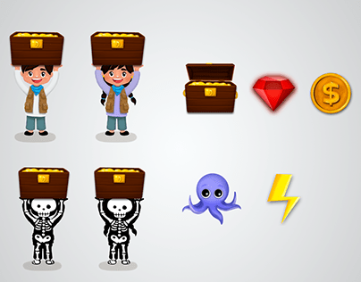 mini game - art and ui design