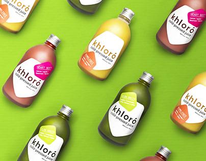 KHLORO : Cold-Pressed Juice