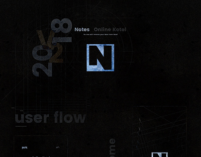 "Dark user flow for ""Online Kotel Notes"""
