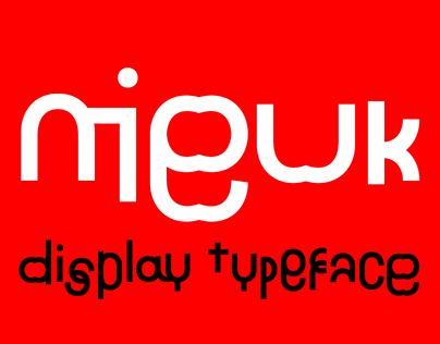 Nieuk Typeface