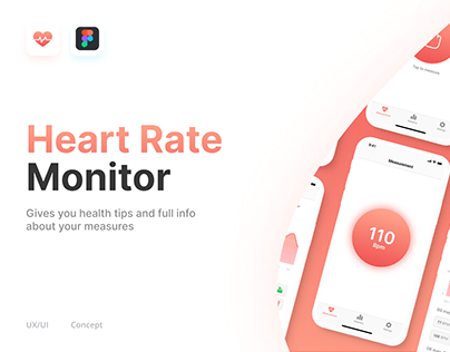 Heart Rate Monitor Mobile app