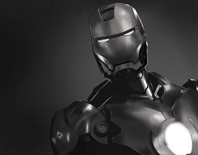 Iron Man - Digital Painting