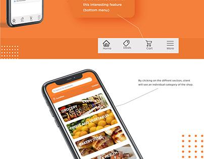 CSD Grocery App