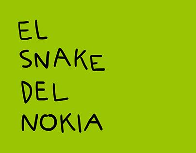 el snake del nokia