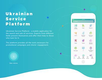 Ukrainian Service Platform