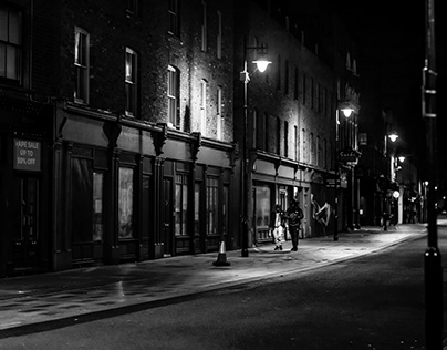 London Streets by Night
