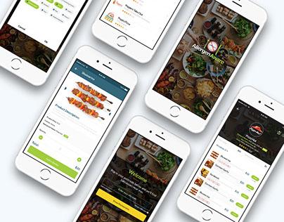 Mobile App Design for Allergen Aware