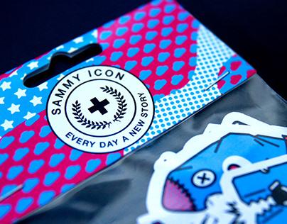 Sammy Icon Sticker series