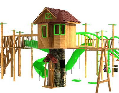 Witch house Playground