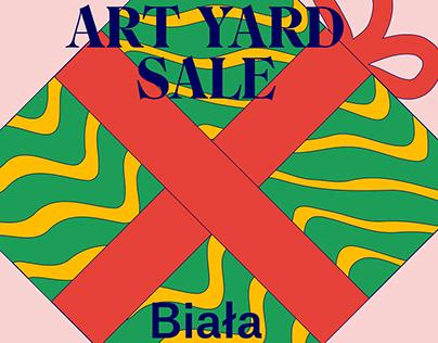 Art Yard Sale X Biała