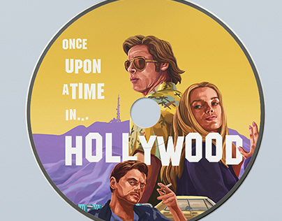 Movie CD Cover Design