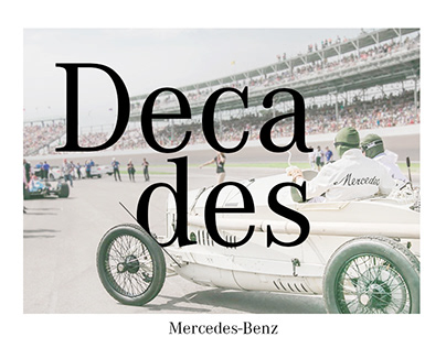 Decades by Mercedes-Benz
