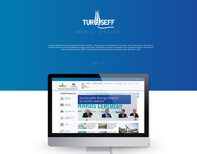 TurSEFF Web Site UI Design