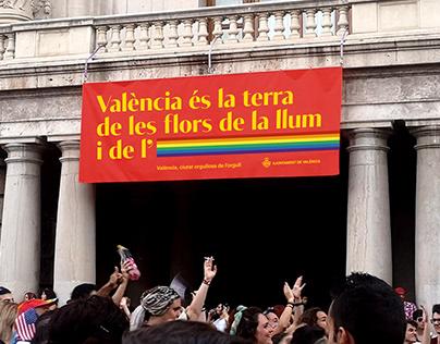 LGTBIQ+. València pride 2019