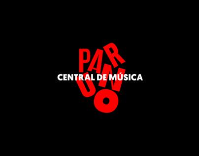 Sitio Web Paruno Central de Música