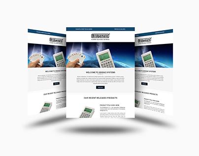 Email newsletter design & development