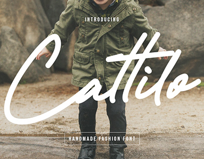 Cattilo Kids Handmade Fashion Font