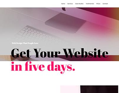 - Home - Five Days Website -